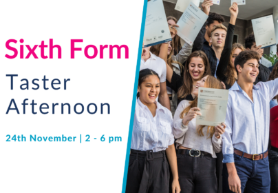 Sixth Form Taster and Options Afternoon