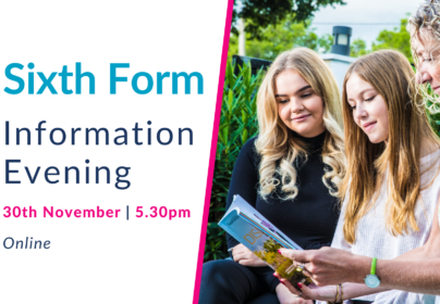 Sixth Form Virtual Information Evening