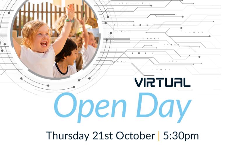 Virtual Open Day OCTOBER SAN webtiles
