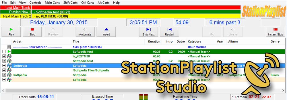 StationPlaylist Studio Radio Automation Software