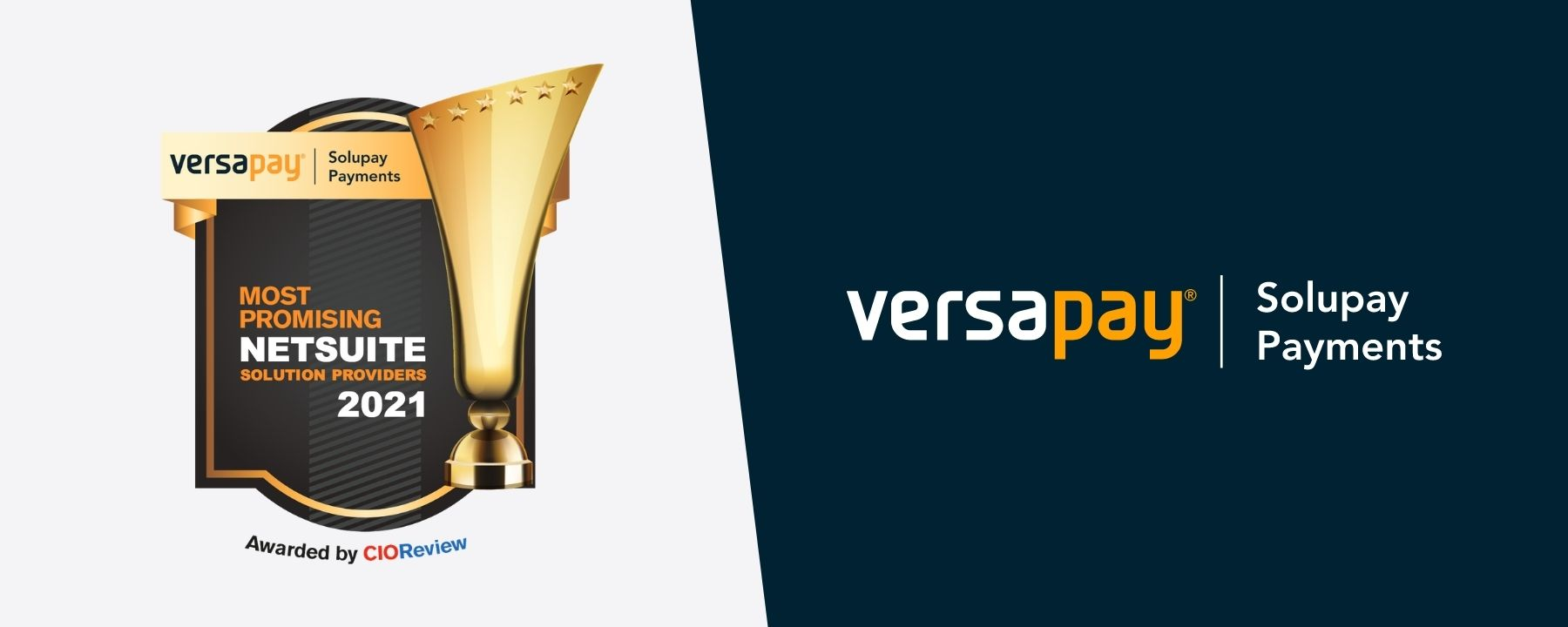 Versapay Named Most Promising NetSuite Solution Provider of 2021