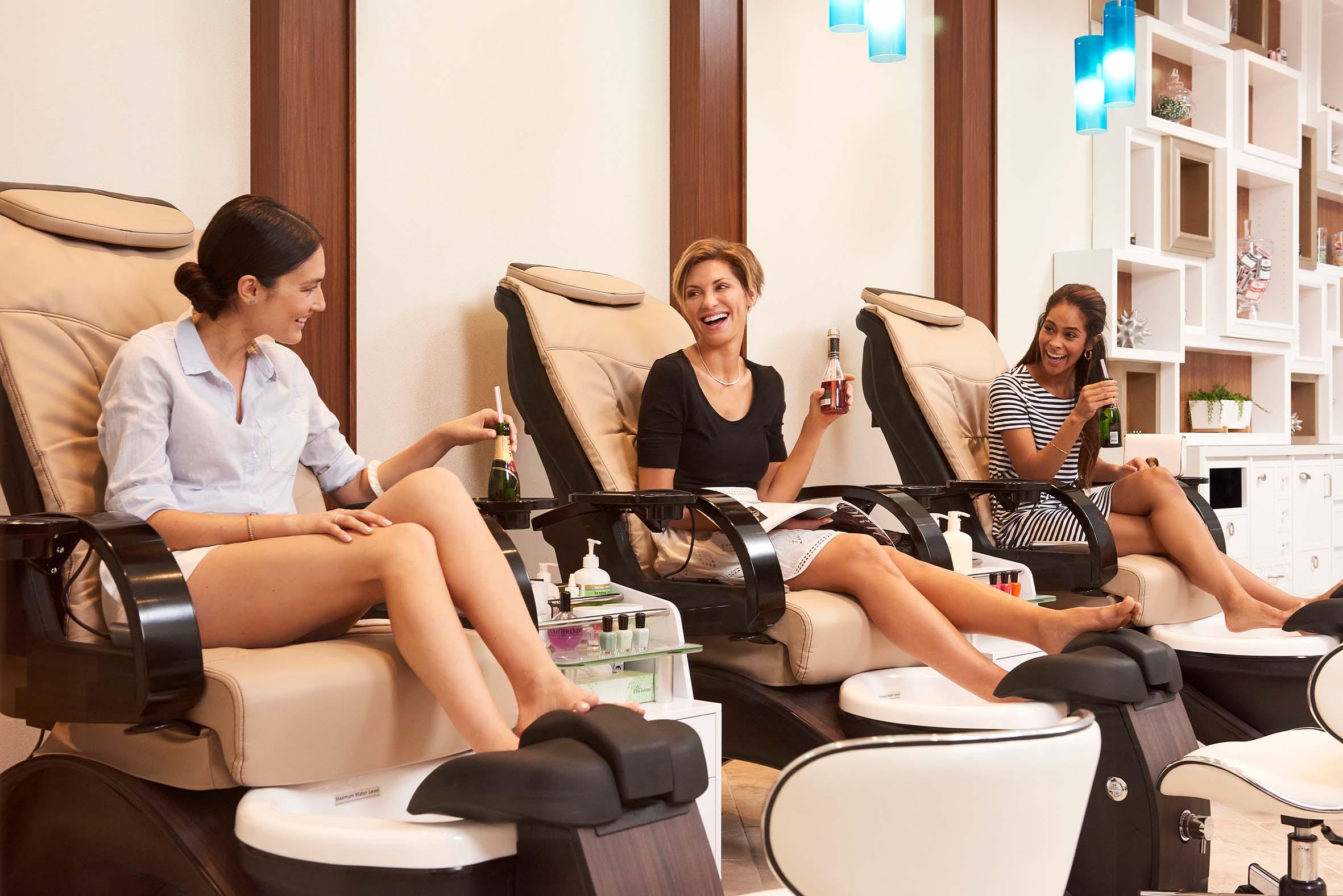 Full-service salon at The Spa at Harrah's