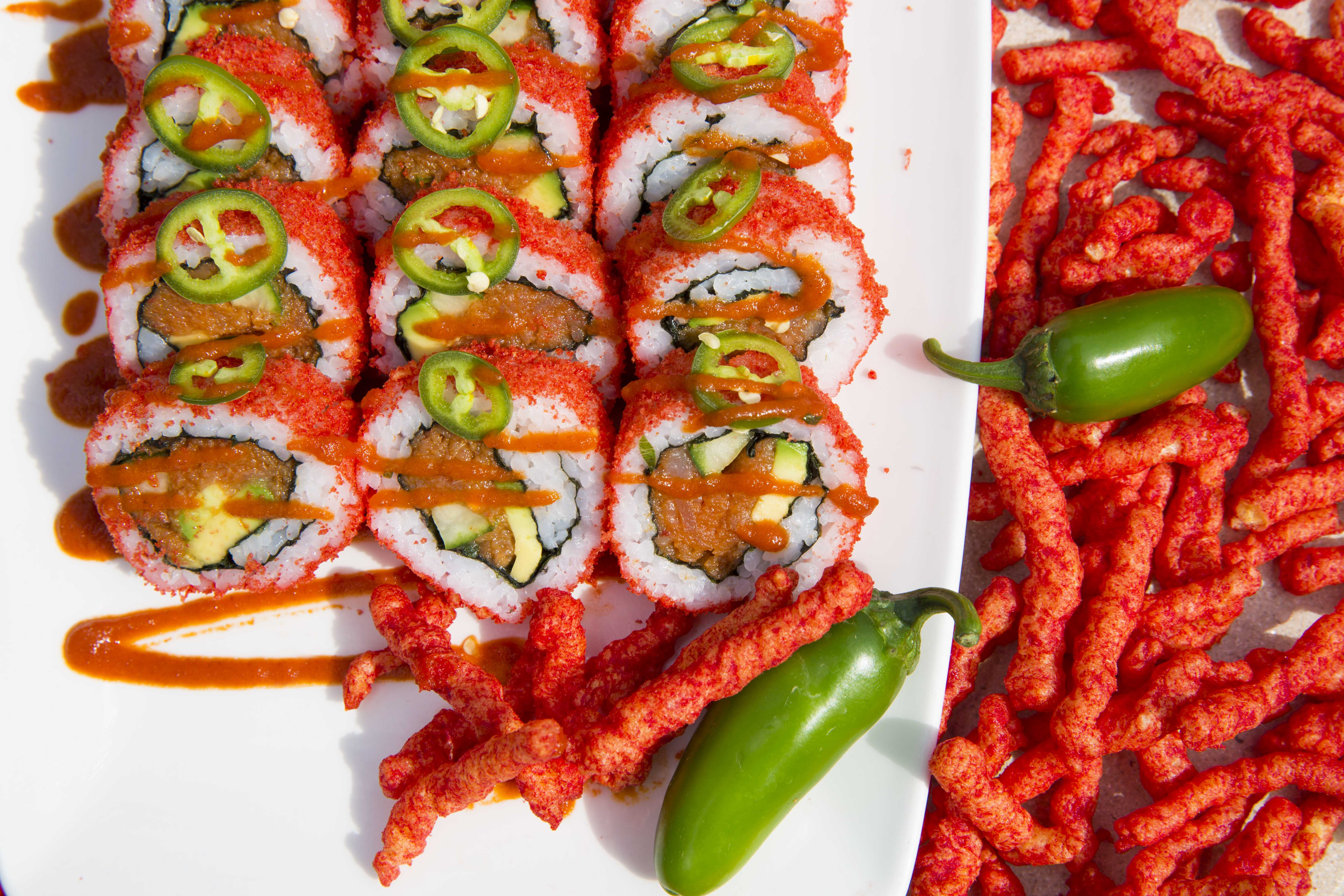 Funner Sushi Friday's every week during dinner hours at the Buffet!