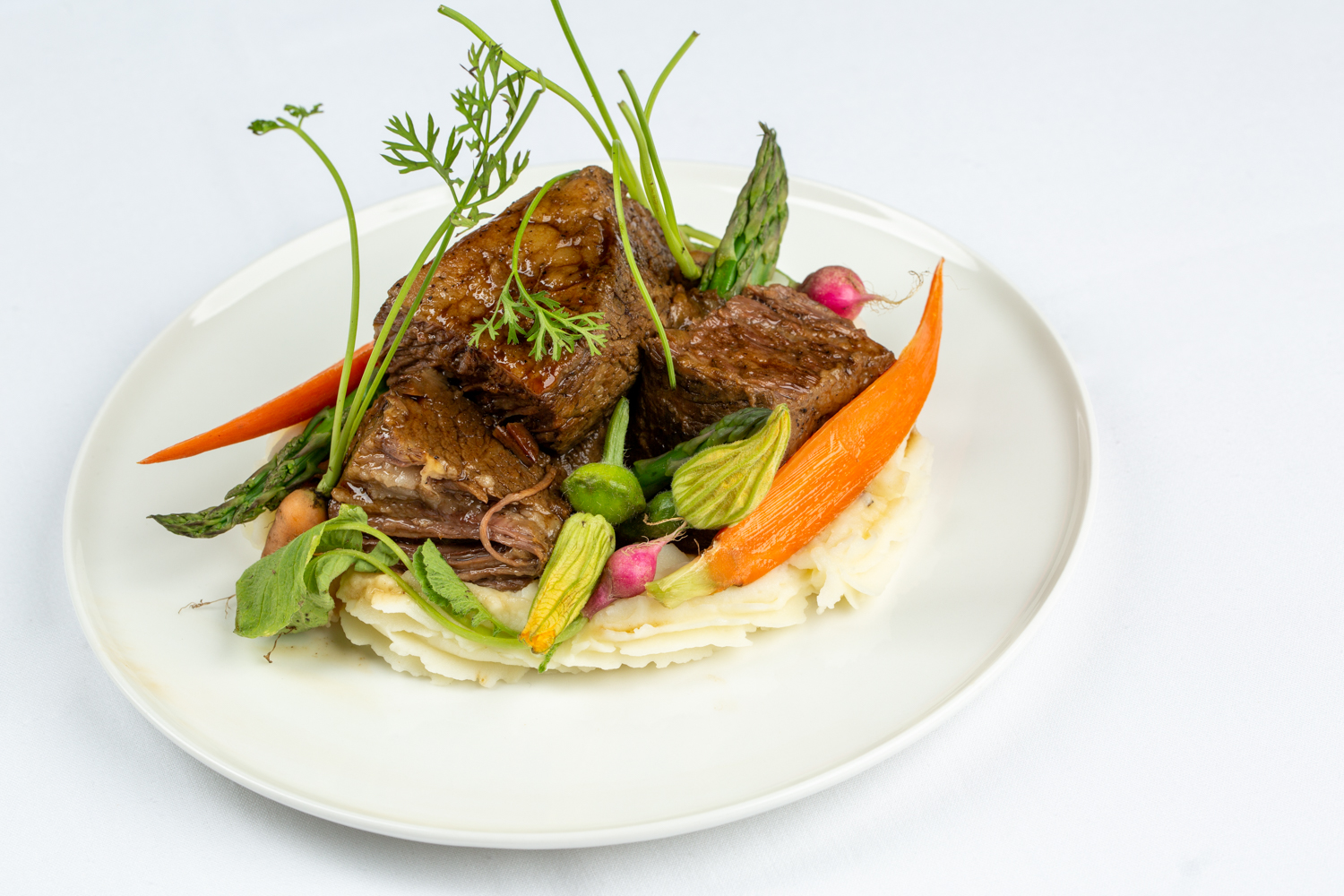 The 24 hour braised short rib available at Fiore.