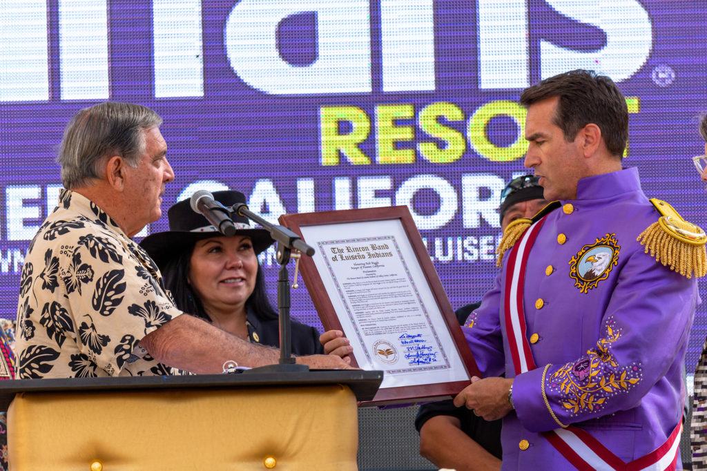 ... and the Funner Proclamation as presented by the Rincon Band of Luiseño Indians