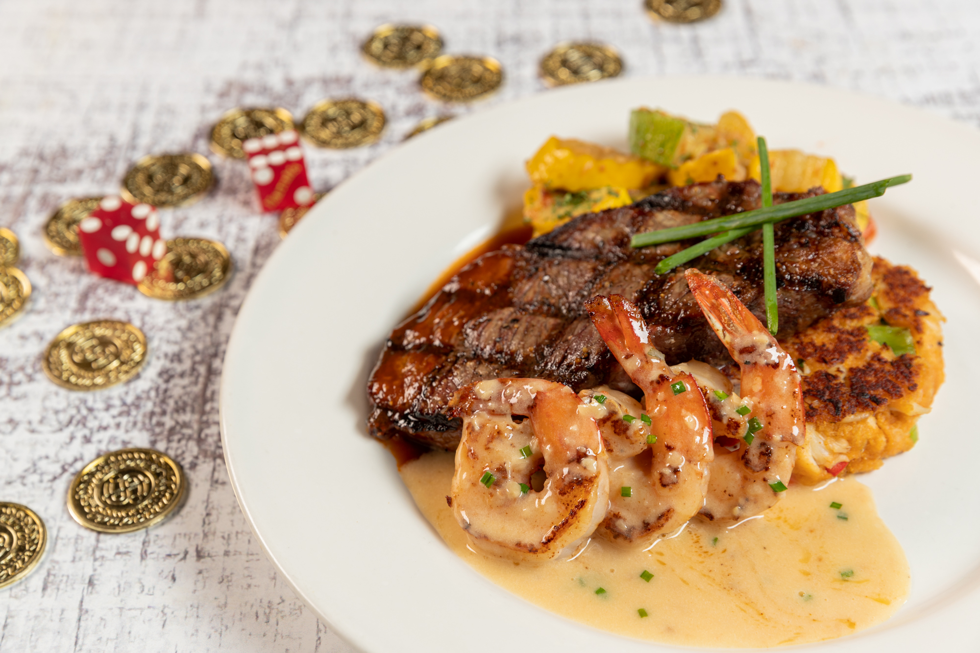 Surf n' Turf madness at The Cafe