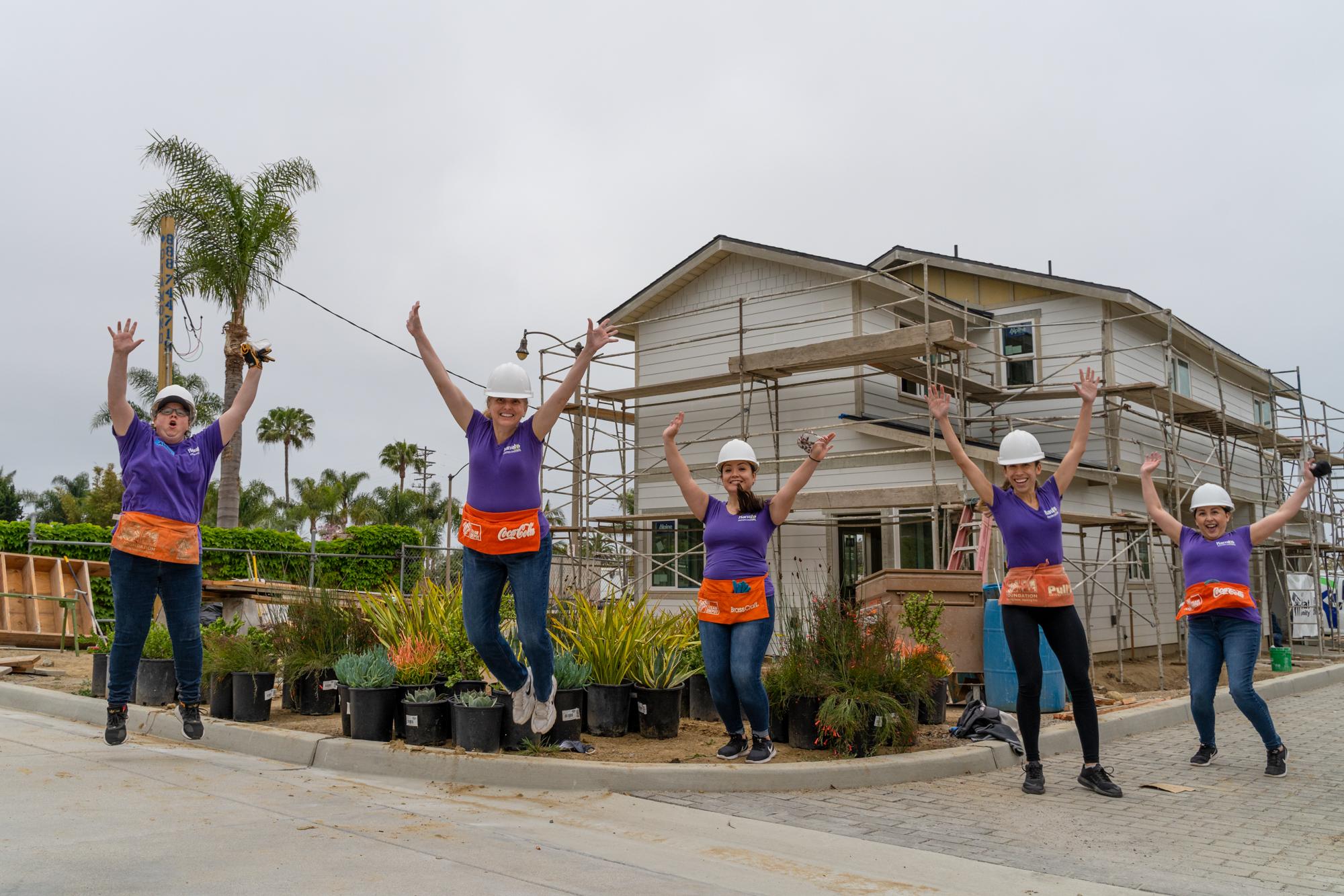 Jump for Women Build!