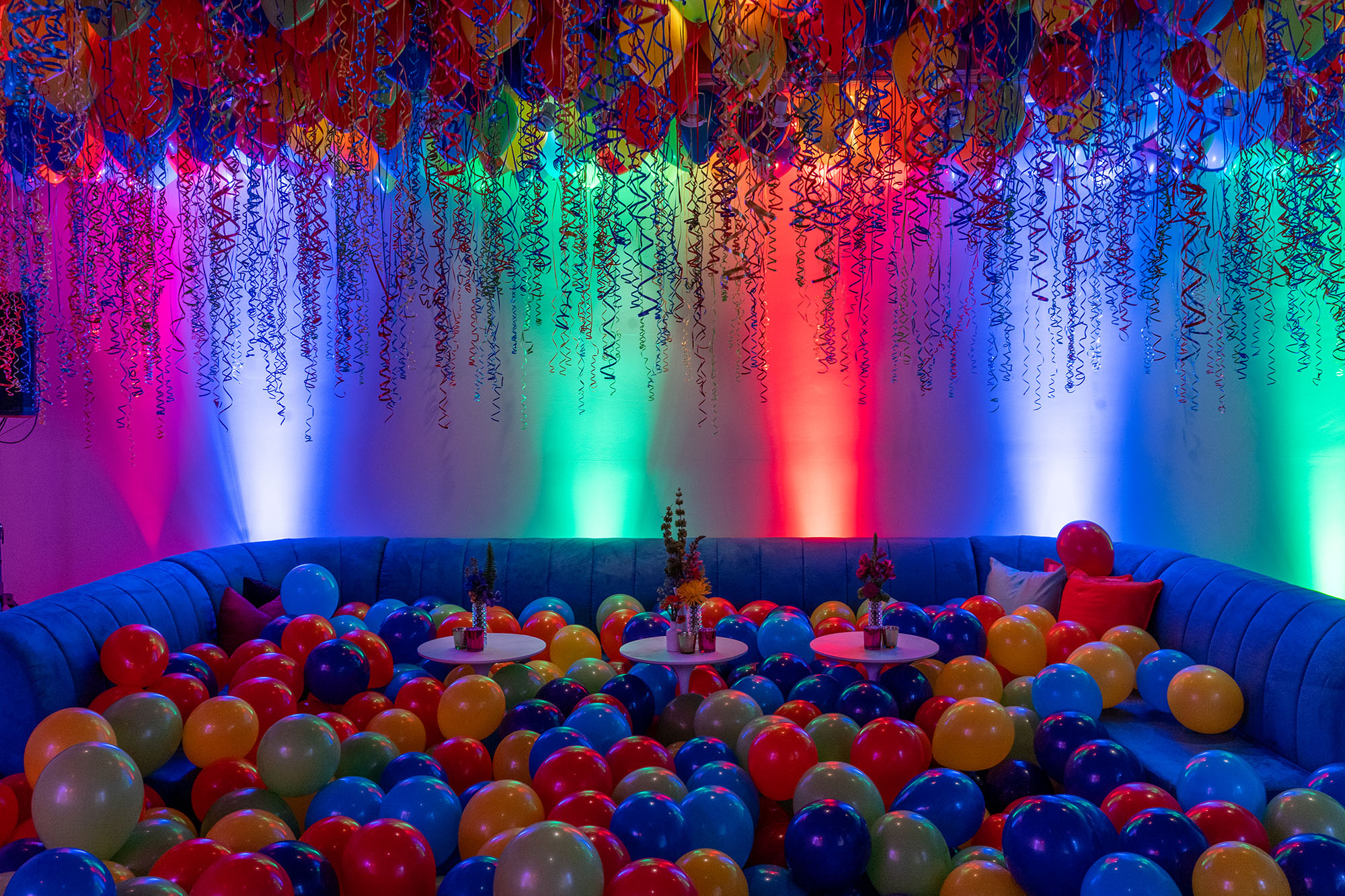 Thousands of balloons
